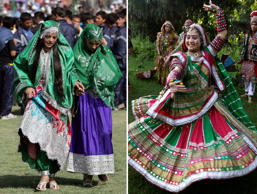 Traditional attires from around the world