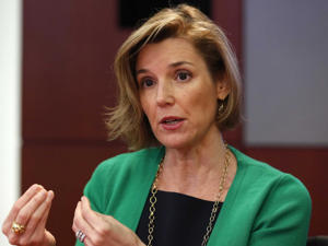 Ellevate Network chair Sallie Krawcheck.