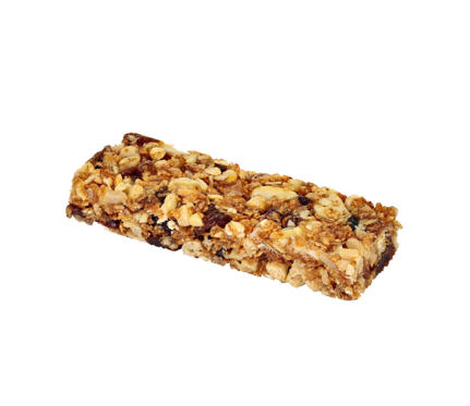If your snack bar is a glorified candy bar—or is in fact, a candy bar— you're in trouble. The added sugars and fats can easily pack on the pounds if you're not careful. Look for bars with short ingredient lists (with items you can pronounce) and minimal sugar.5 Savory Nutrition Bars That Make Your Other Bars Look Like Candy >>>