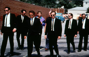 A still from the film 'Reservoir Dogs.'