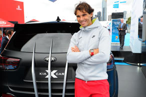 Rafael Nadal has worked as brand ambassador for Kia since 2006, so you could say he has been a tremendous signing for them. Here he is posing alongside the Kia Sorento X-Men Edition. Of course, we should end here, as 40 is a good number in tennis circles…