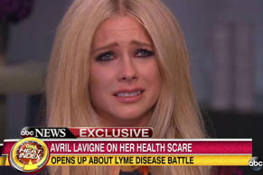 Avril Lavigne describes her battle with Lyme Disease