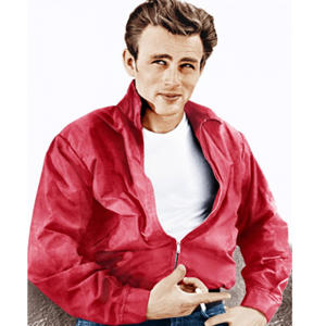 James Dean in Rebel Without a Cause.