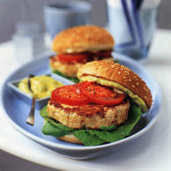 Chicken burgers. Representative photo.