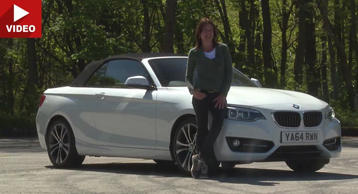 BMW 2-Series convertible: video review