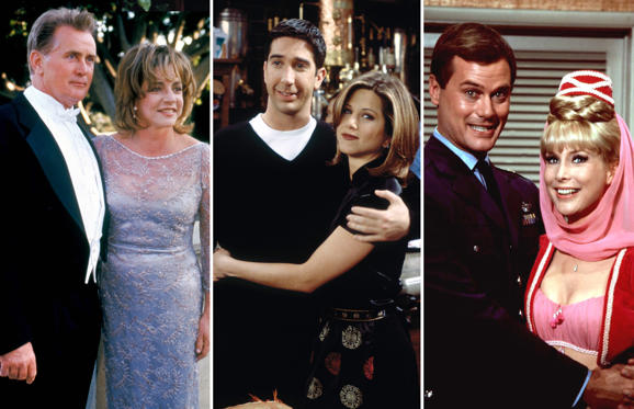 Slide 1 of 38: Memorable TV Couples