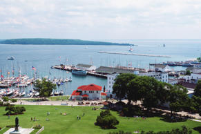 Mackinac Island. Panoramic Images/Getty Images