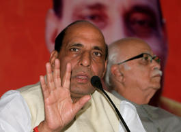Don't try to be an Englishman, be an Indian first: Rajnath tells students