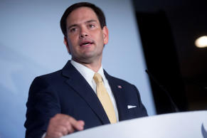 Republican Presidential Candidate, Marco Rubio. Andrew Harrer/Bloomberg