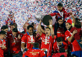 Chile won the Copa América on penalties for the first time in their history after a stalemate in normal time against Argentina in Santiago