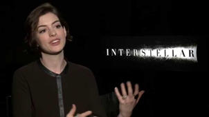 Interstellar: Anne Hathaway Exclusive Interview