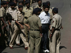 File: Mumbai Serial Bomb Blasts Case accused Yakub Memon entering the TADA court on October 25, 2007 in Mumbai, India.