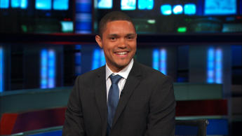 "Trevor Noah, the new host of Comedy Central's ""The Daily Show,"" who starts Sept. 28, 2015."