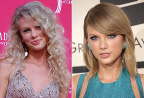 Taylor Swift: 2006 and 2015
