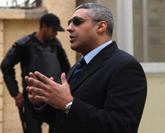 Al Jazeera journalist Mohamed Fahmy in a file photo.