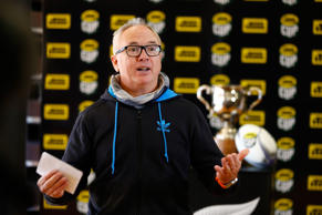 New Zealand Rugby General Manager Rugby Neil Sorensen during the 2015 ITM Cup season launch at New Windsor School on July 30, 2015 in Auckland.