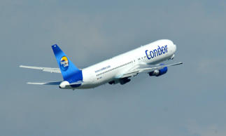 A pilot on the Condor Airlines Boeing 767 reported an in-flight emergency