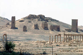 File: This file photo released on Sunday, May 17, 2015, by the Syrian official news agency SANA, shows the general view of the ancient Roman city of Palmyra, northeast of Damascus, Syria.