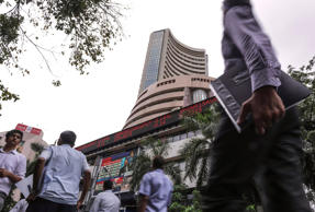 Sensex snaps two session gains to end 109 pts down