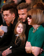 Fashion forward: Celebrity kids on the front row