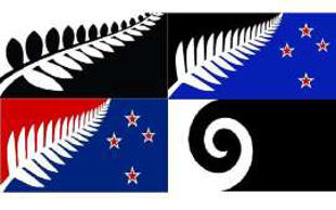 The final four new national flag designs revealed.