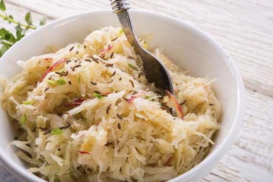 sauerkraut with ingredients