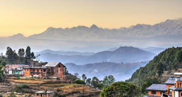 Bandipur village in Nepal.