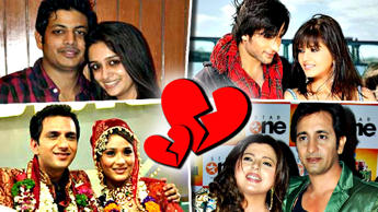 TV Celebs With Their Failed Marriages