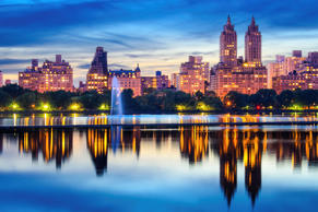 New York City Central Park Skyline. Sean Pavone/Getty Images