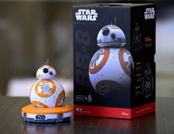 A robotic toy based on the BB-8 droid from 'Star Wars: The Force Awakens', seen in Boulder, Colorado, September 1, 2015.