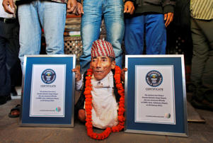 "Chandra Bahadur Dangi at 21.5 inches, held the Guinness World Records for being the shortest man ever. The Nepal native passed away at the age of 75. Guinness World Records in a statement said, ""He will be remembered forever as an iconic and extraordinary record holder."" Here's a look at some other extra-ordinary individuals, who went to set incredible records owing to their amazing body."