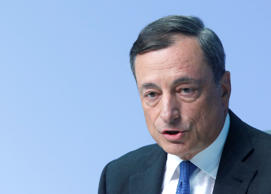 Bond Traders Soothed by Draghi Before Data on Euro-Area Growth