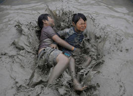 Boryeong Mud Festival in pictures