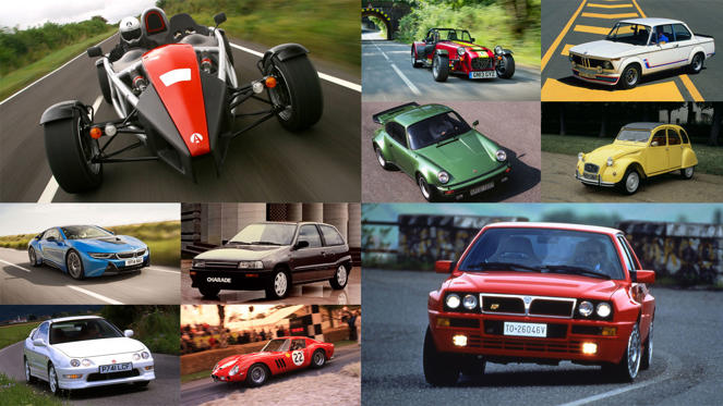 Slide 1 of 112: First we selected 50. Then 100. Then we settled on 111. We could have carried on and we're sure you'll have plenty of names to add to this list, but these are our 111 cars you need to drive before you die.