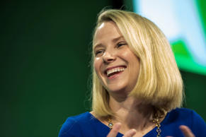 Marissa Mayer, president and chief executive officer at Yahoo! Inc.,  during the 2015 Bloomberg Technology Conference in San Francisco in June.