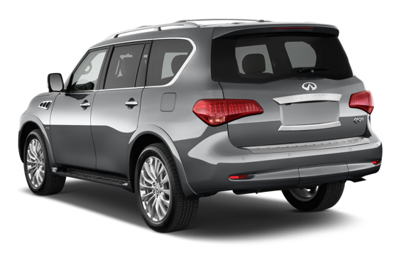 Slide 2 of 14: 2015 Infiniti QX80