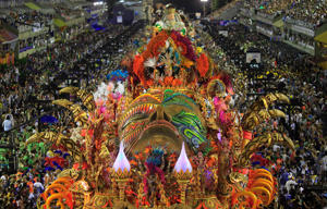 The Rio de Janeiro's Carnival is considered the largest carnival in the world.