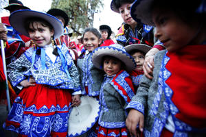Images of the Cuzco festivities leading up to the Inti Raymi festival in Cuzco.