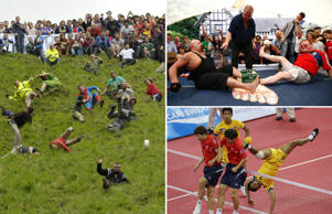 The 35 strangest sports on the planet and the people that rule them