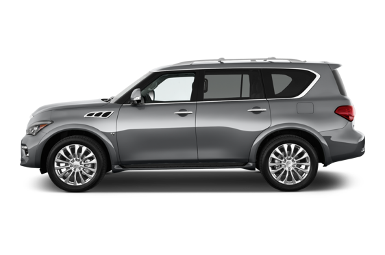 Slide 1 of 24: 2015 Infiniti QX80