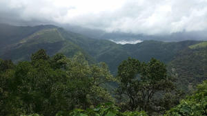 The Western Ghats lie within miles of the coast.
