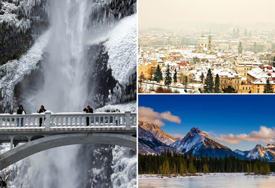 Diapositiva 1 de 40: 44 Beautiful Winterscapes That Will Make You Want to Pack Your Bags