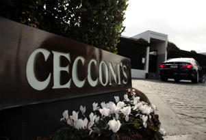 Cecconi's restaurant  in Los Angeles.