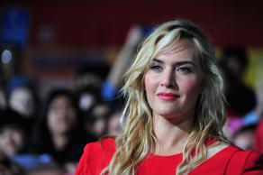 Actress Kate Winslet arrives at the premiere of Summit Entertainment's 'Divergent' at the Regency Bruin Theatre on March 18, 2014 in Los Angeles, California.