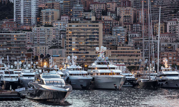 Slide 1 of 27: The Super Yachts of the Monaco Yacht Show 2015
