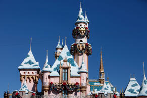 The Magic Castle at Walt Disney Co.'s Disneyland Park, part of the Disneyland Re...