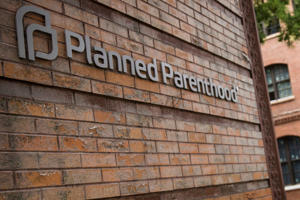 A Planned Parenthood location is seen on August 5, 2015 in New York City.