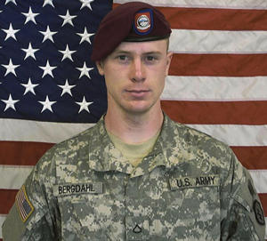 Undated handout photo of Army Sgt. Bowe Bergdahl
