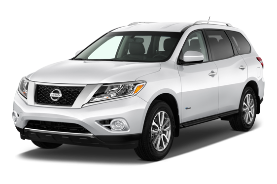 Slide 1 of 14: 2014 Nissan Pathfinder Hybrid