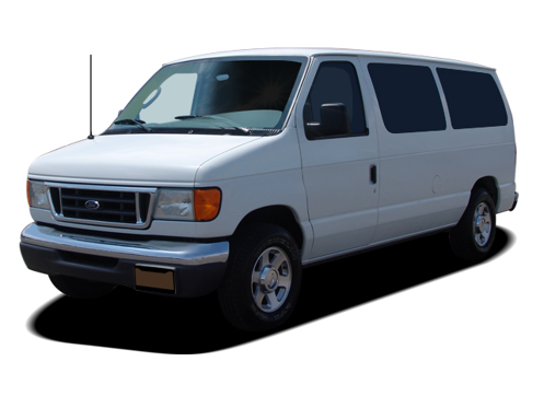 Slide 1 of 10: 2007 Ford Econoline Van